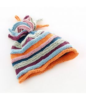 Rainbow Hat soft orange