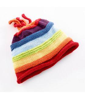 Rainbow Hat - multi 100-046 0-6m, 6-12m, 1-2Y