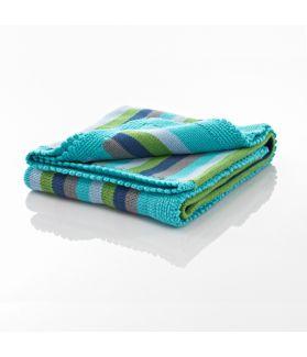 Blanket - blue stripey 600-002BS