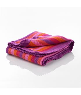 Blanket - pink stripey 600-002PS