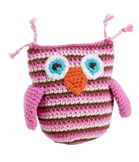 Owl - pink 200-099OP