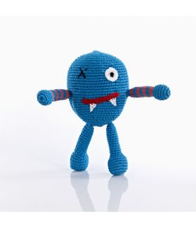 Chubby monsters - Scary - Blue 200-099CMB