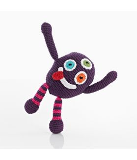 Chubby monsters - Silly - purple 200-099CMP