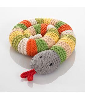 Rattles - snake - green 200-099SG