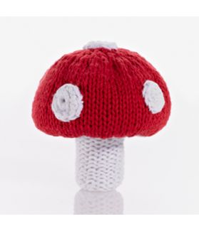 Vegetable rattles - toadstool 200-005H