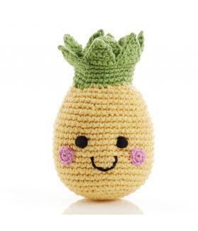 Fruit rattles - pineapple 200-006E